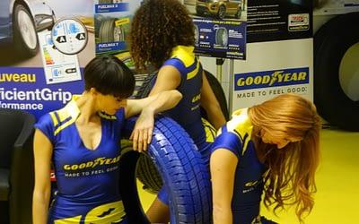 Goodyear Dunlop et Salon Vulco